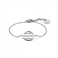 Mockberg M Thin Bracelet Silver