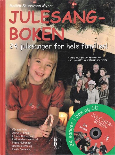 JULESANGBOKEN - 24 julesanger for hele familien (m