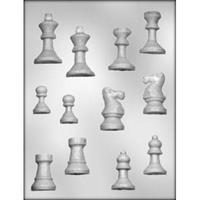 Plastform sjakk brikker