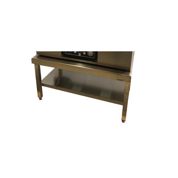 Rostfritt bord 100 x 60 cm h. 55 cm