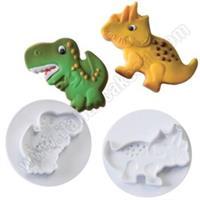 Utstikkersett Dinosaurer ICA 2stk