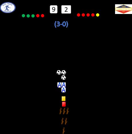 Lille Tøyen - Lambertseter: 9-2 (3-0)