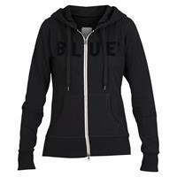 Blue Sportswear Feline Hood Jacket, Black