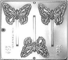 Plastform Sommerfugl m/pinne