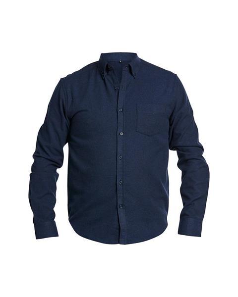 Flanellskjorta Lyx, Blå strl.L