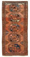 862 Afghan med kamel 250 x 117