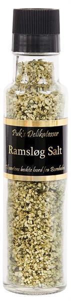 Ramsløg Salt (kvern) 180g