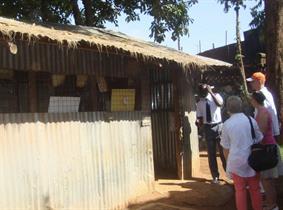 2012 Kibera Nursary Schoolbuilding - class 1