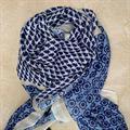 Three M Scarves, Blue