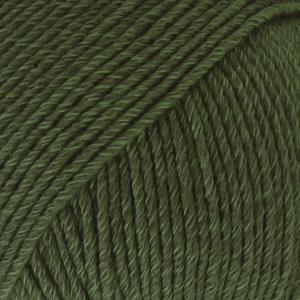 Cotton Merino Mørk grønn