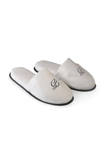 Balmuir Portofino Slippers, White