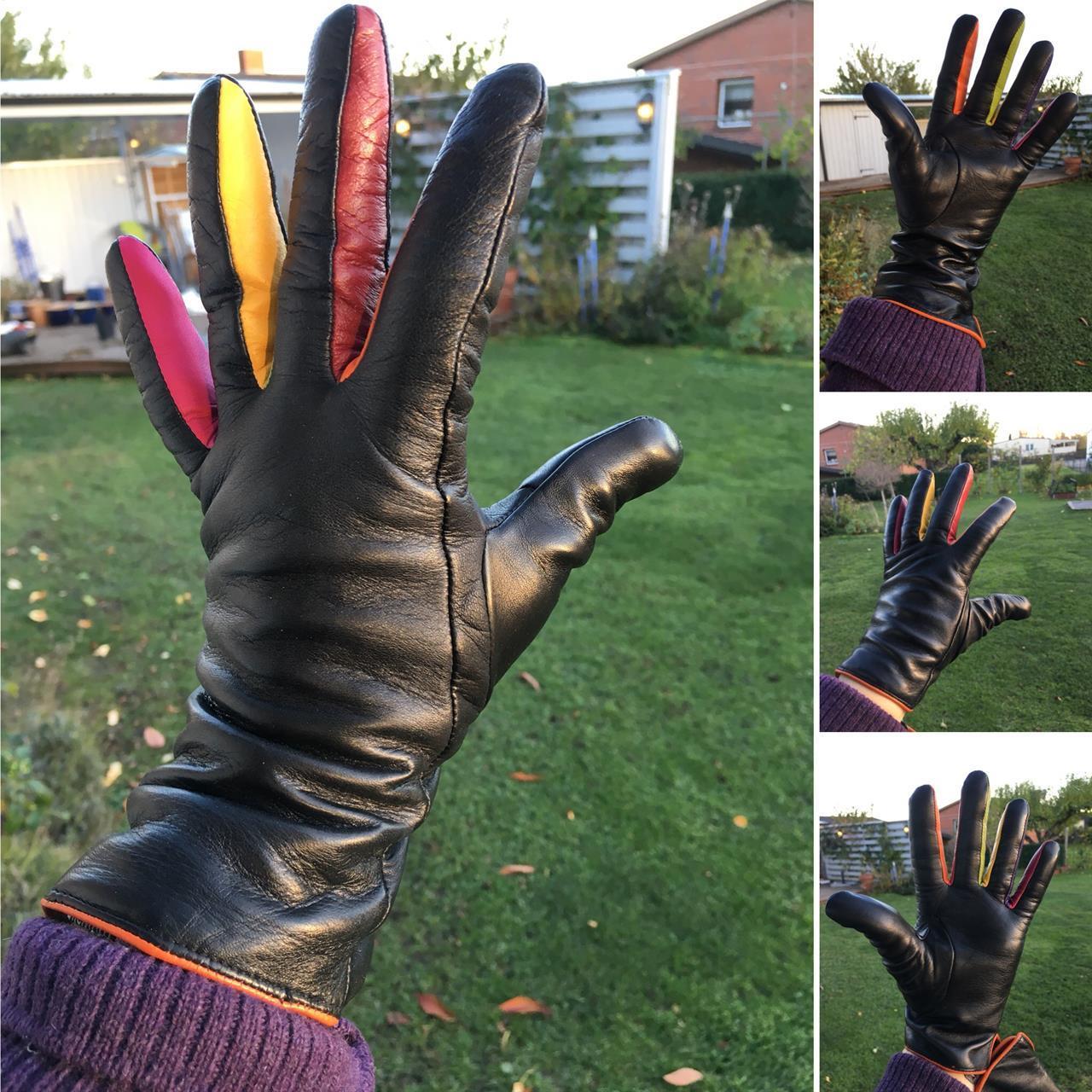 Handskar i lammnappa med ullfoder Mywalit