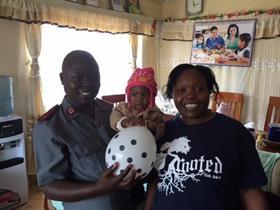 Kibera Citadel Corps officers Peter & Beatrice Asiema