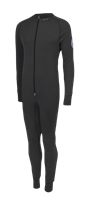 XC-Suit, hel dress m/lav hals, gl.lås foran - M
