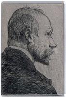 Magnetbricka Carl Larsson