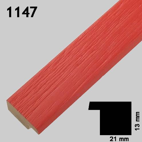 Ramme rød 1147 Greens rammefabrikk