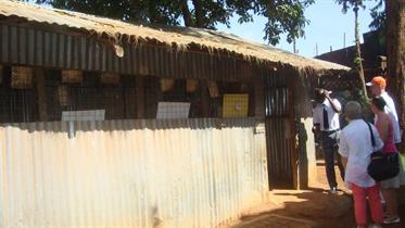 School building youngest children