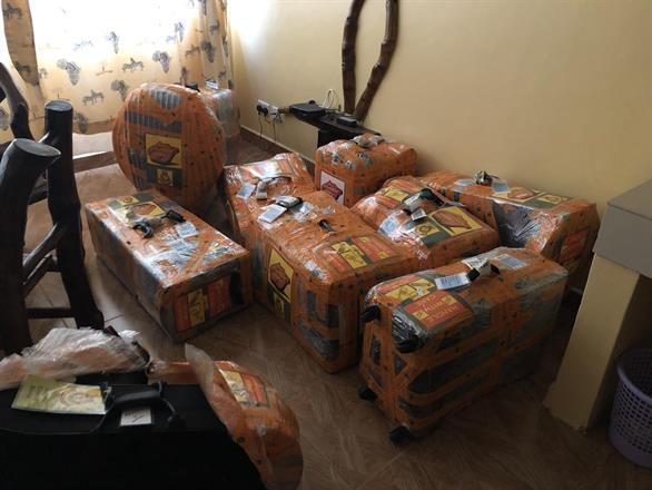 Dags att packa upp / Time for unpacking