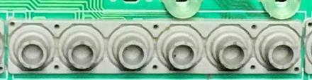 PW145 Rubber switch-6, Brukt (K1N203)