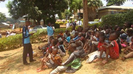 Bible Class for the Kibera Children