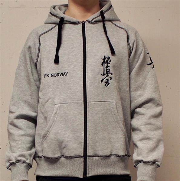 Grå hoodie, IFK Norway