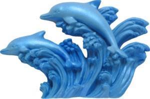 FI Silikonform Delfin Pair 3 (A208)