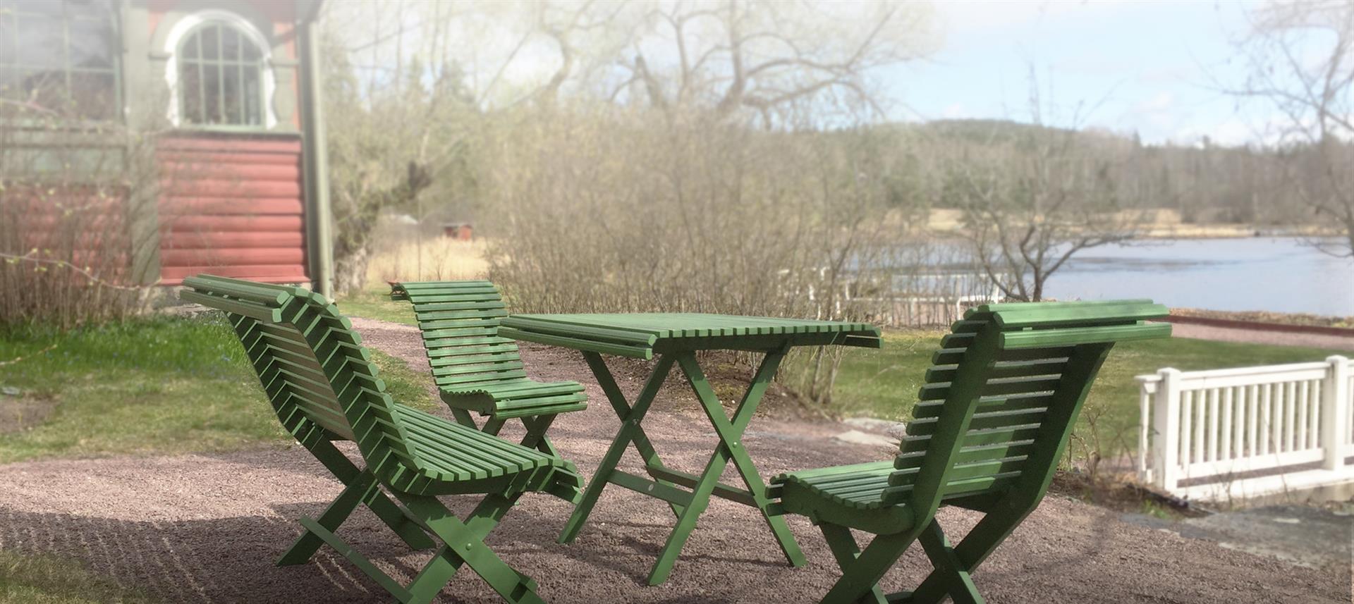 Sundborn - Trädgårdsmöbler