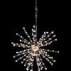 Dekoration Firework Hängande 50cm svart Star Tr.