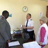 Secretary for program LtColonel Herman Mbakaya