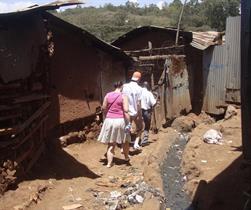 2012 - Visiting Kibera slum