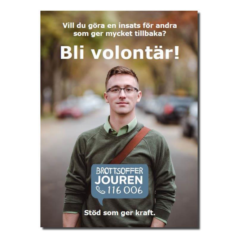 Informationsblad A5 - Bli volontär