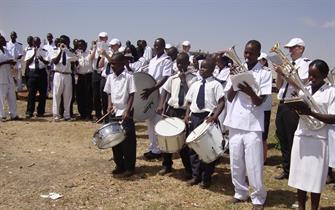 2012 Open Air meeting in Makutano