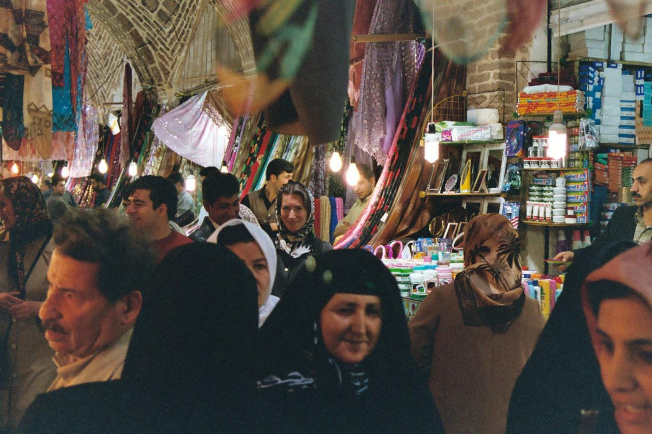 Glimt fra basaren i Kermanshah