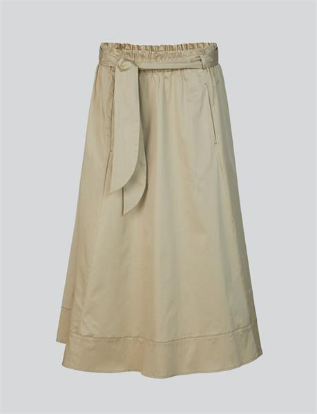 Summum Woman Skirt Light Cotton, Straw