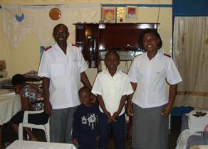 Corps officers Kibera 2010 - Captain David & Linet Odanga