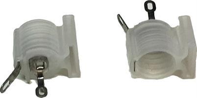 LAMPEHOLDER FOR E10, PLAST, TANDBERG