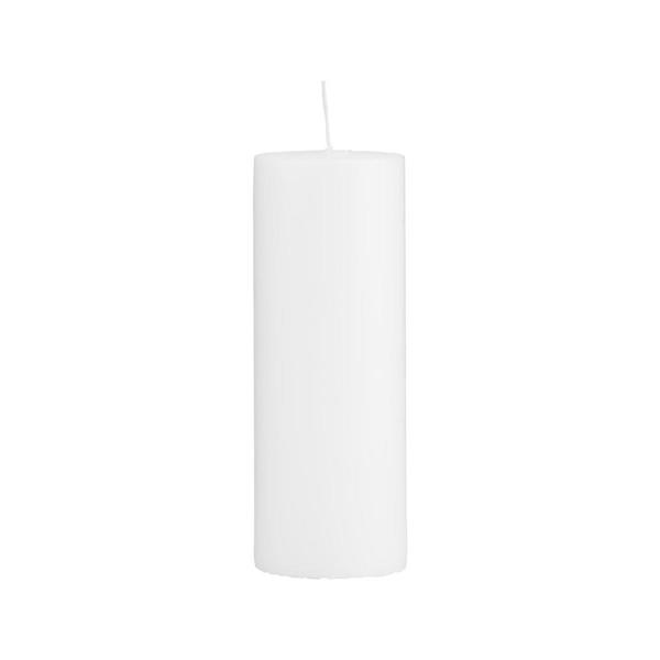 House Doctor Candle, White 20 x 7 cm