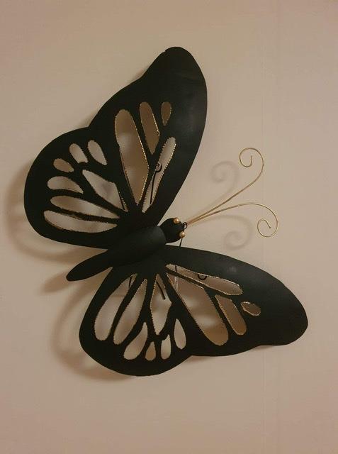 Fjäril svart