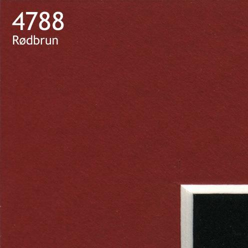 4788 rødbrun