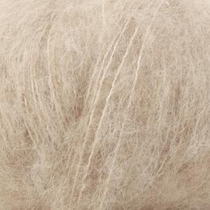 Brushed Alpaca Silk Lys beige