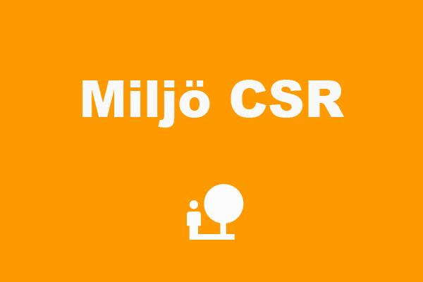 Miljö och CSR