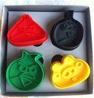 Utstikkersett Angry Birds, 4 deler
