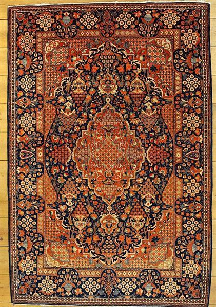 56003 Kashan medaljong 200 x 140