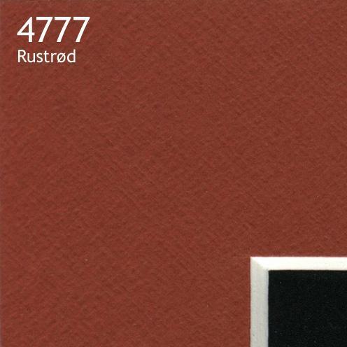 4777 rustrød