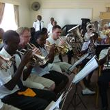 Mixed cornet section