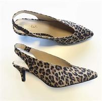Bukela Agnes suede, Leopard