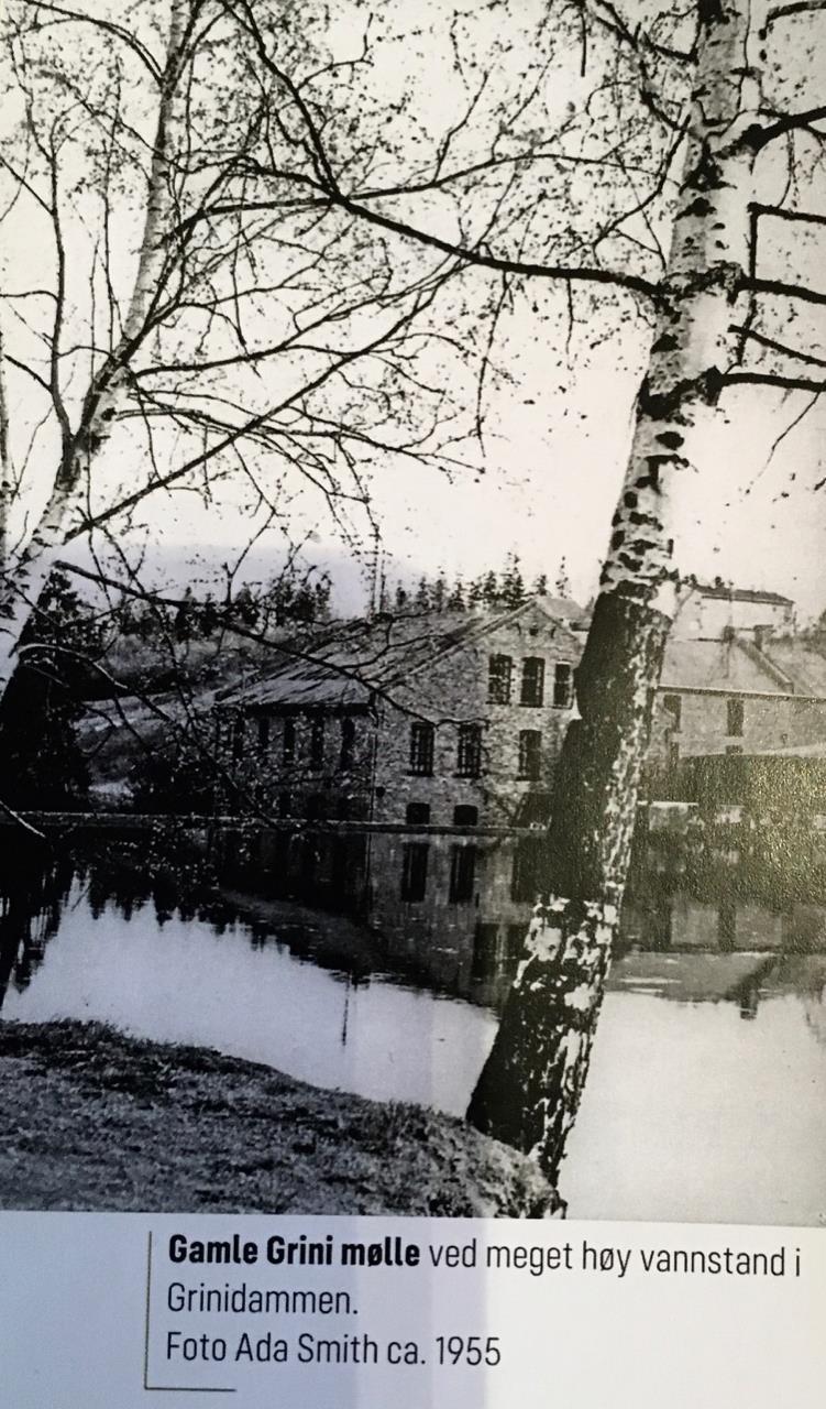 Grini Mølle i 1955