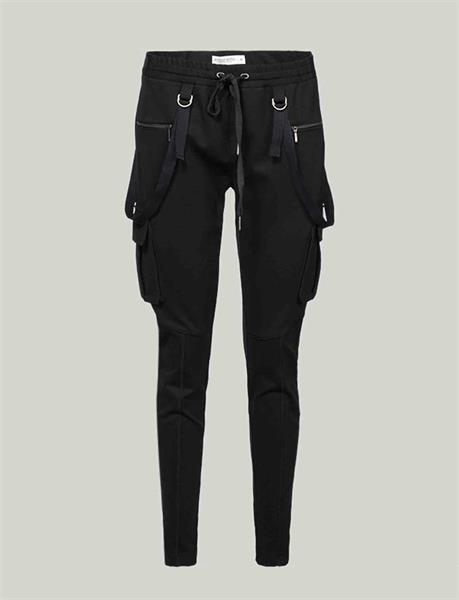 Summum Woman Sporty Trousers, Black