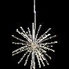 Dekoration Firewok hängande 50cm silver Star Tr.