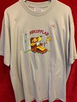T-shirt Avkopplad M silvergrå